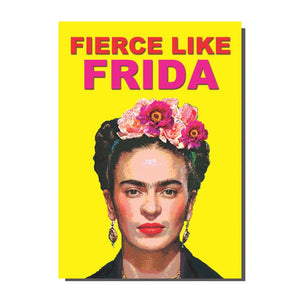 Fierce Like Frida Card