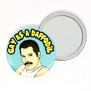 Freddie Gay As A Daffodil Pocket Hand Mirror
