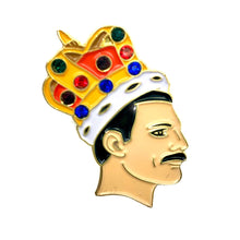 Load image into Gallery viewer, Freddie Mercury Enamel Pin Badge