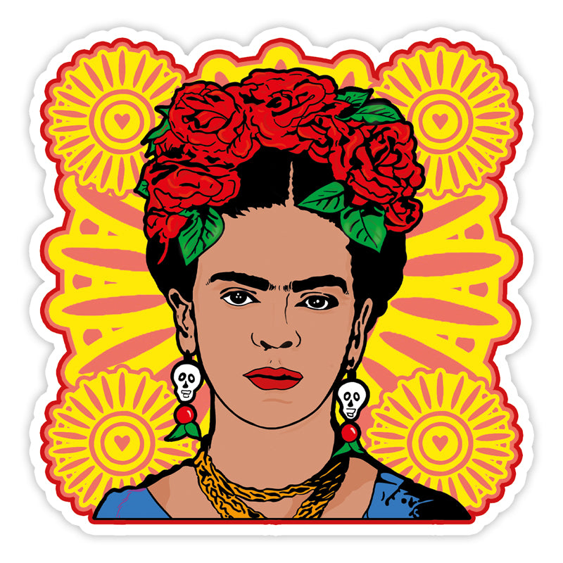 Frida Kahlo Vinyl Sticker