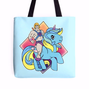 My Little He-man Tote Bag