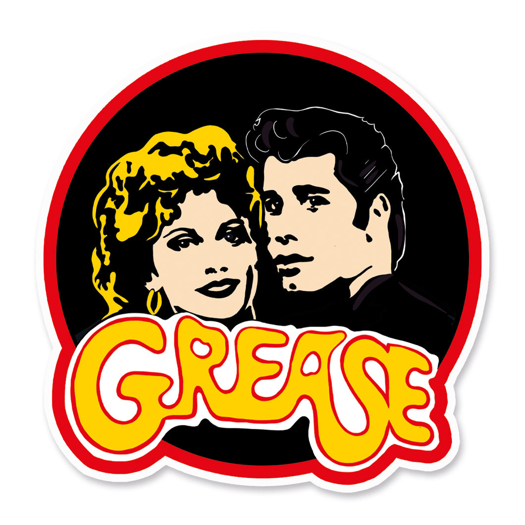 Grease Vinyl Sticker