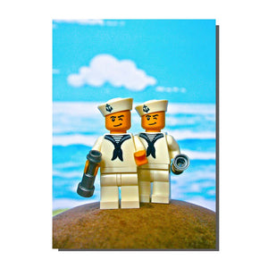 Happy Sailors Card (Great For Gay Weddings)