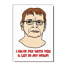 Load image into Gallery viewer, Ian Beale Loves you Greetings Card