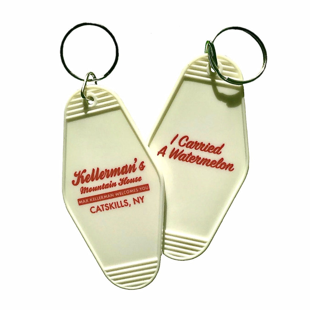 Dirty Dancing Kellerman's Mountain House I Carried A Watermelon Hotel Fob Keyring