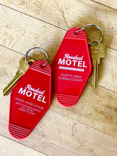 Load image into Gallery viewer, Schitt's Creek Rosebud Motel Hotel Fob Keyring