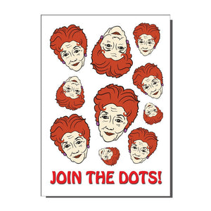 Join The Dots Greetings Card