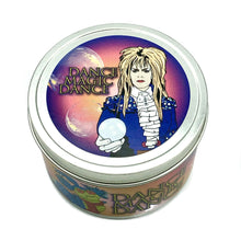 Load image into Gallery viewer, The Labyrinth Dance Magic Dance Inspired Lis D'Ambre Scented Candle