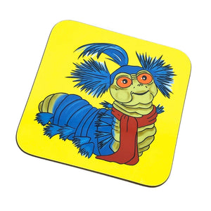 Labyrinth Worm Drinks Coaster