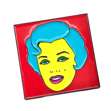 Load image into Gallery viewer, Marilyn Monroe Pop Art Enamel Pin Badge