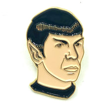 Load image into Gallery viewer, Mr Spock Star Trek Enamel Pin Badge