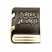 Load image into Gallery viewer, Murder She Wrote Enamel Pin