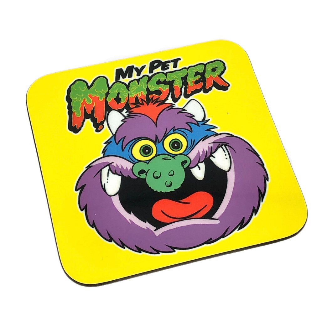 My Pet Monster Drinks Coaster