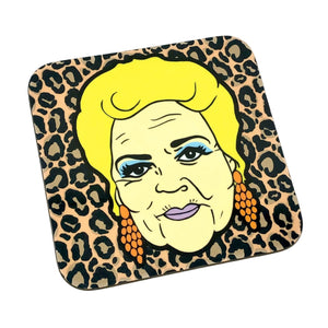 Pat Butcher Drinks Coaster