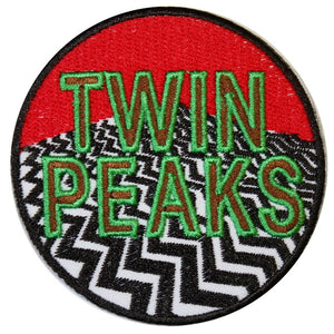Twin Peaks Iron On Patch