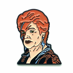 Pat Insane Enamel Pin
