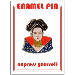Bjork Enamel Pin Badge
