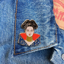 Load image into Gallery viewer, Bjork Enamel Pin Badge