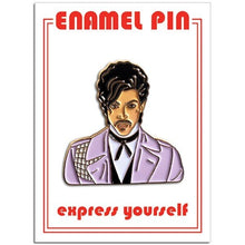 Load image into Gallery viewer, Prince Purple Rain Enamel Pin Badge