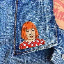 Load image into Gallery viewer, Yayoi Kusama Enamel Pin Badge