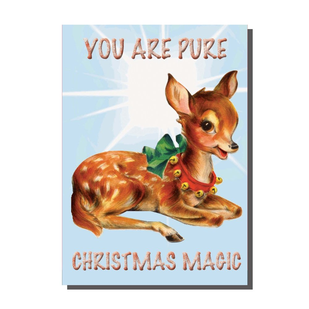 Pure Christmas Magic Card