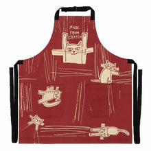 Load image into Gallery viewer, Made From Scratch Cat Apron