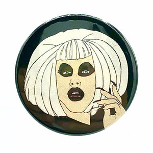 Sharon Needles Button Pin Badge