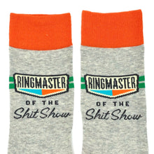 Load image into Gallery viewer, Ringmaster Of The Shit Show Socks