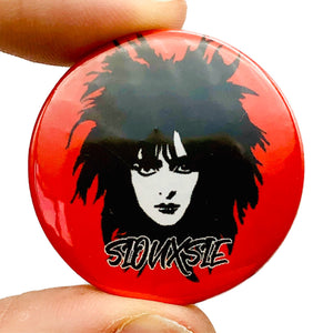 Siouxsie And The Banshees Button Pin Badge