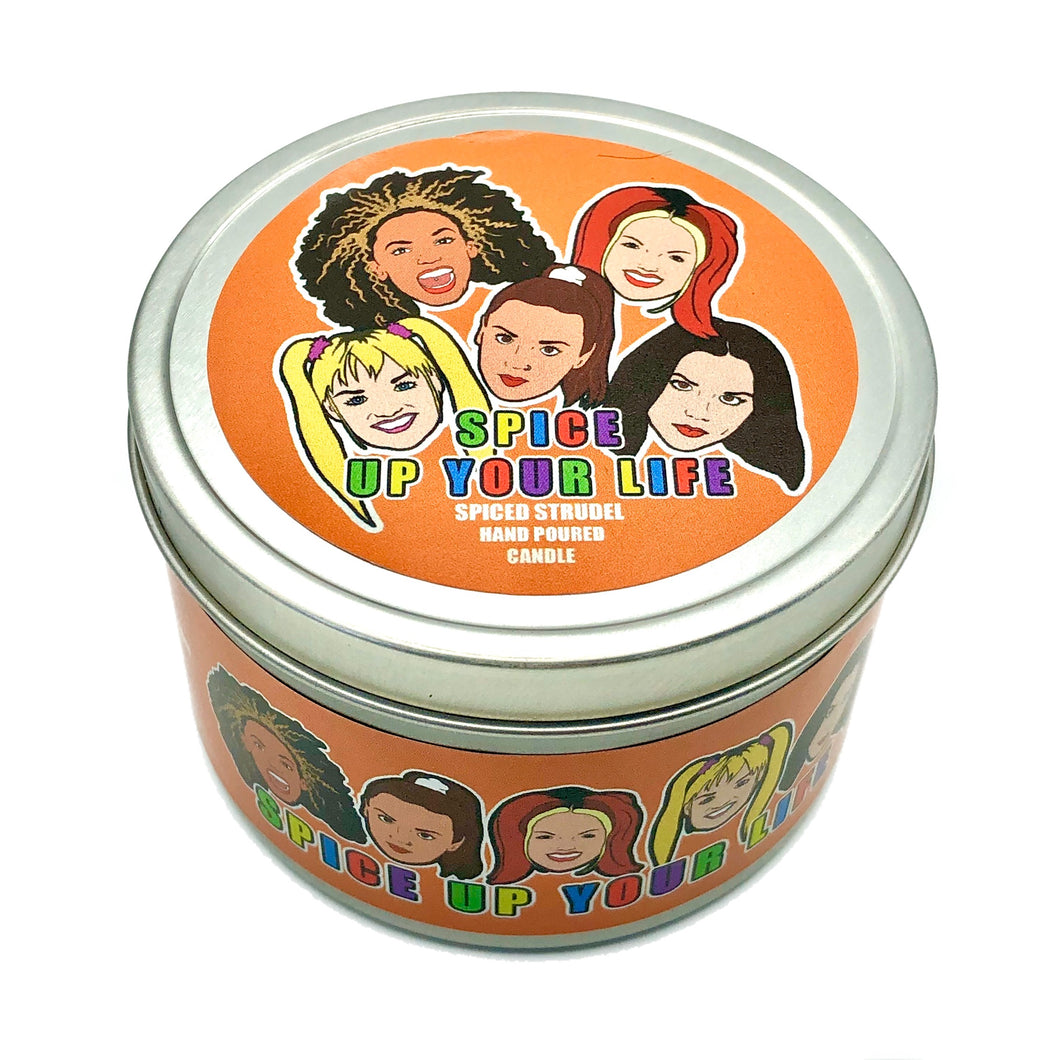 Spice Up Your Life Scented Candle
