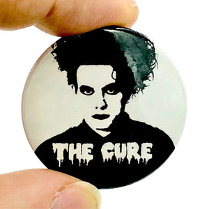 The Cure Robert Smith Button Pin Badge