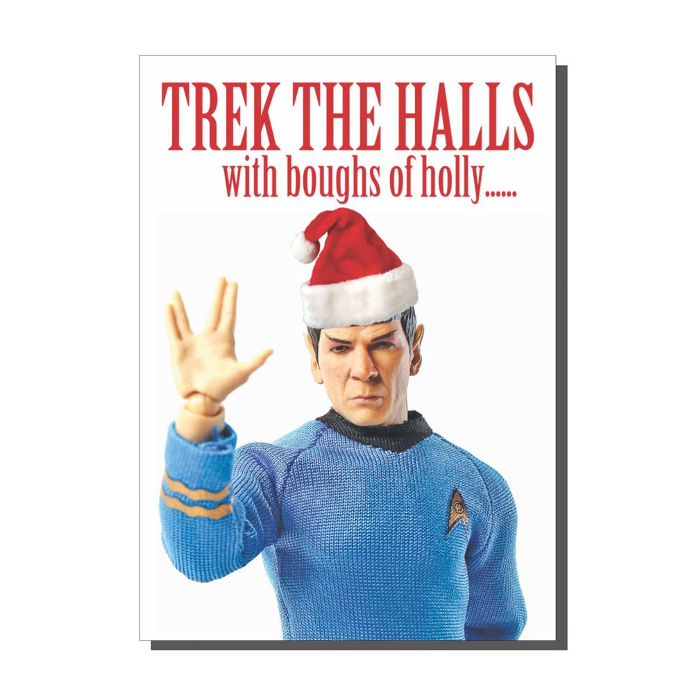 Trek The Halls Christmas Card