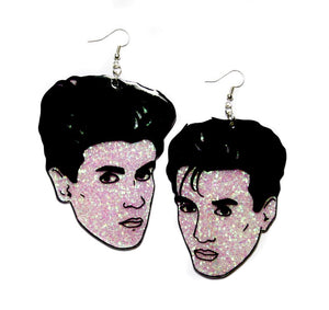 Statement 1980s Style Wham Earrings