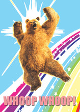 Load image into Gallery viewer, Whoop Whoop Big Gay Bear Card