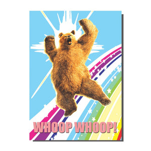Whoop Whoop Big Gay Bear Card
