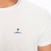 White Crew Neck TShirt