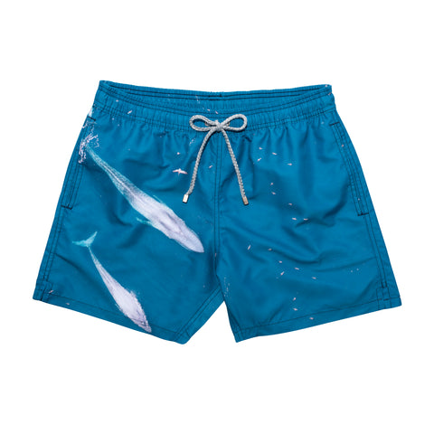 Blue Whale Swim Short