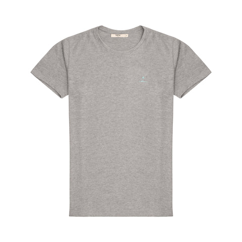 Grey Crew Neck TShirt