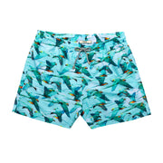 Blue Macaws Swim Short
