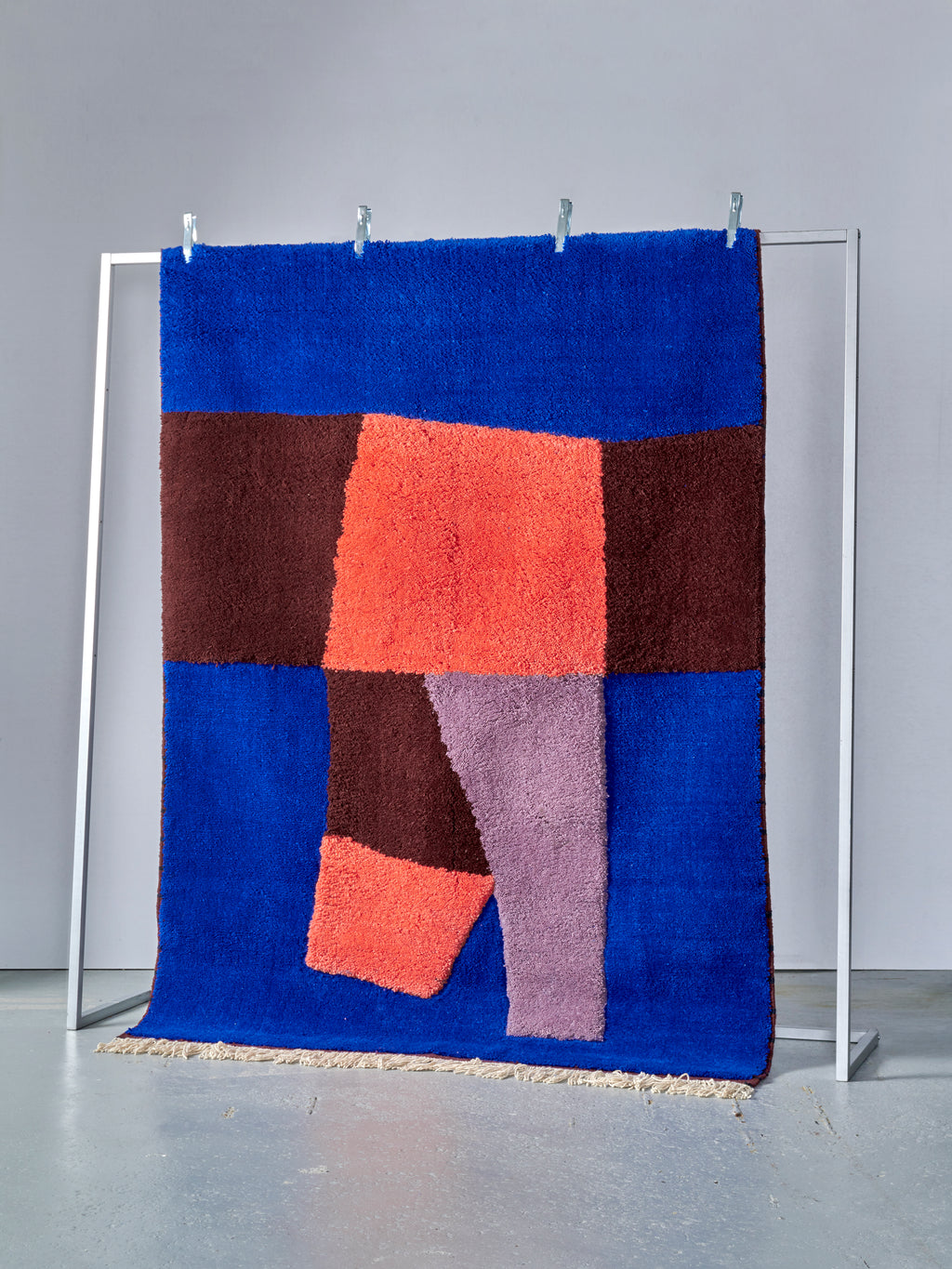 ENTWINE - Blue and Terracotta