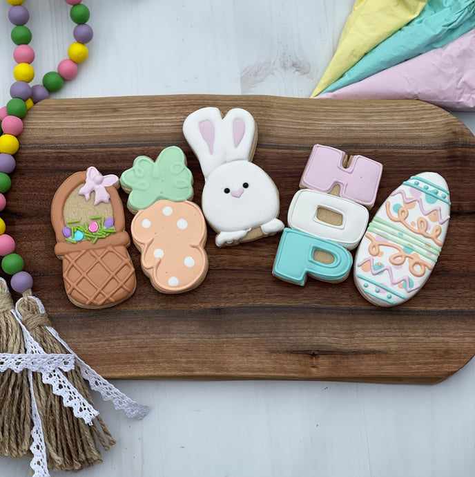 EASTER COOKIE DECORATING CLASS 4/2/21 at 6:30pm
