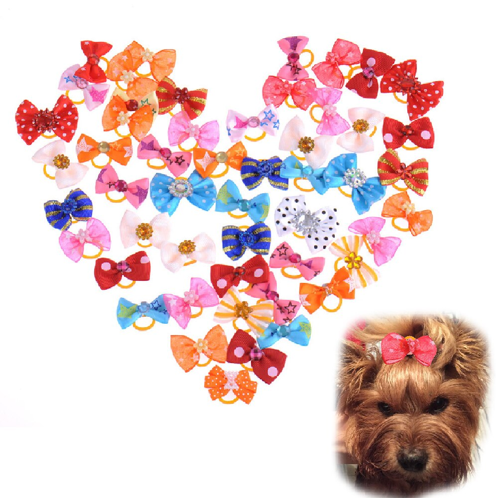 Dog/Cat bowties (100 pieces per pack) - Fluffy Palace