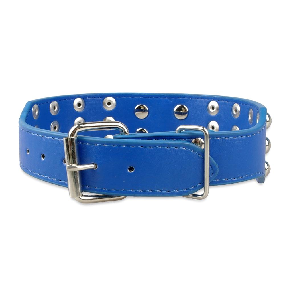 Studded Leather Dog Collar - Fluffy Palace
