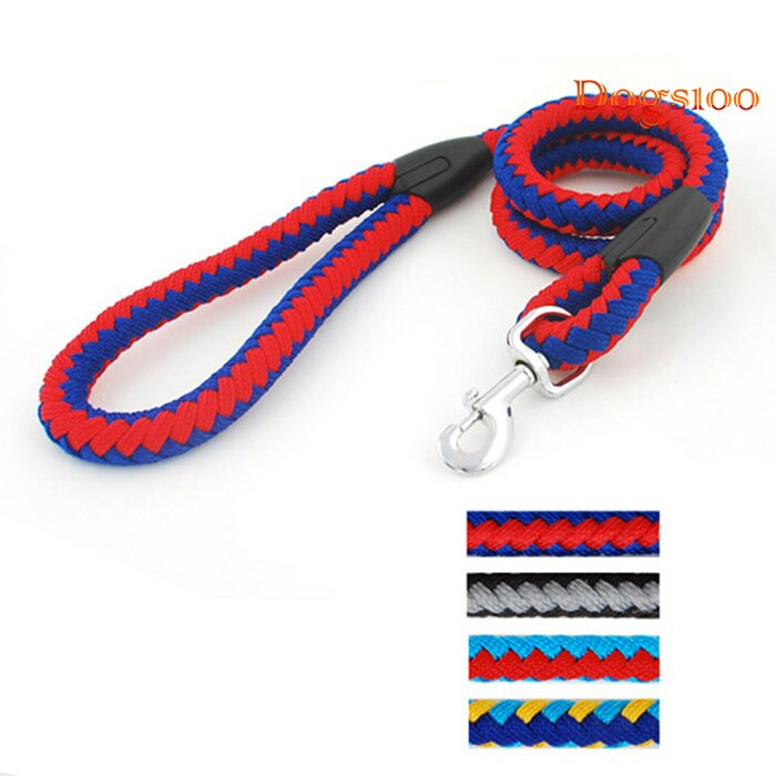 4 Ft Braided Training Leash - Fluffy Palace