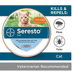 Seresto Flea and Tick Collar for Dogs, 8-Month Tick and Flea Control for Dogs Over 18 lbs - Fluffy Palace
