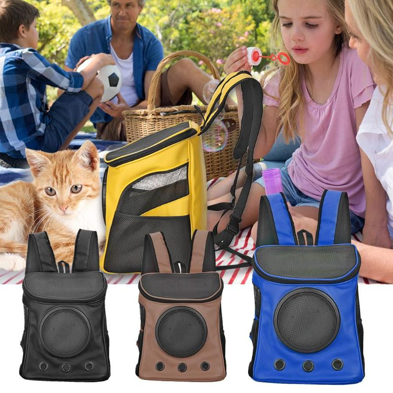 Breathable Dog Carriers Bag Pet Carrier Backpack - Fluffy Palace