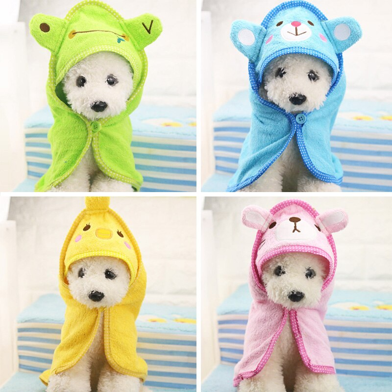 Adorable fluffy towel for fluffy dogs - Fluffy Palace