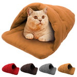 Super Cosy Dog/Cat Bed Cave - Fluffy Palace