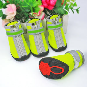 Dog Shoes Winter Boots Waterproof Pet Snow Rain - Fluffy Palace
