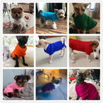 Warm Winter Sweaters for Small Dogs - Fluffy Palace